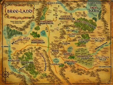Bree-land 地図