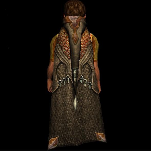Wood-wanderer's Cloak hobbit