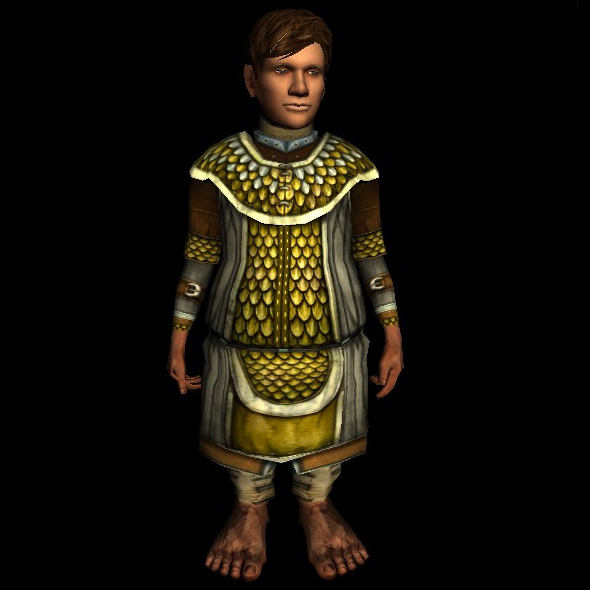 Scaled Hauberk hobbit