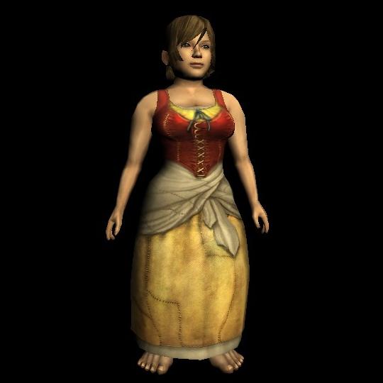 Common Dress hobbit