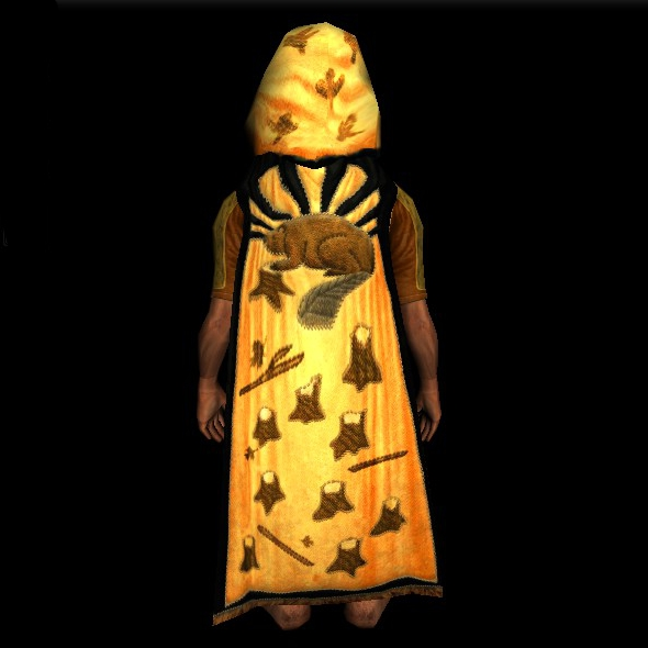 Cloak of the Eager Beaver hobbit