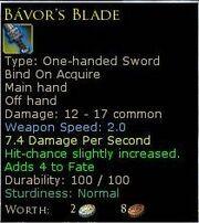 BavorsBlade