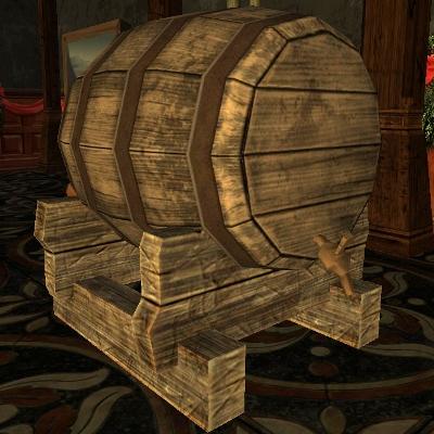 宿屋連盟の樽