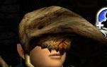 Hölzerne Höhlenklauen-Maske