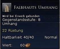 Falbhauts Umhang