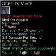 GreensMace