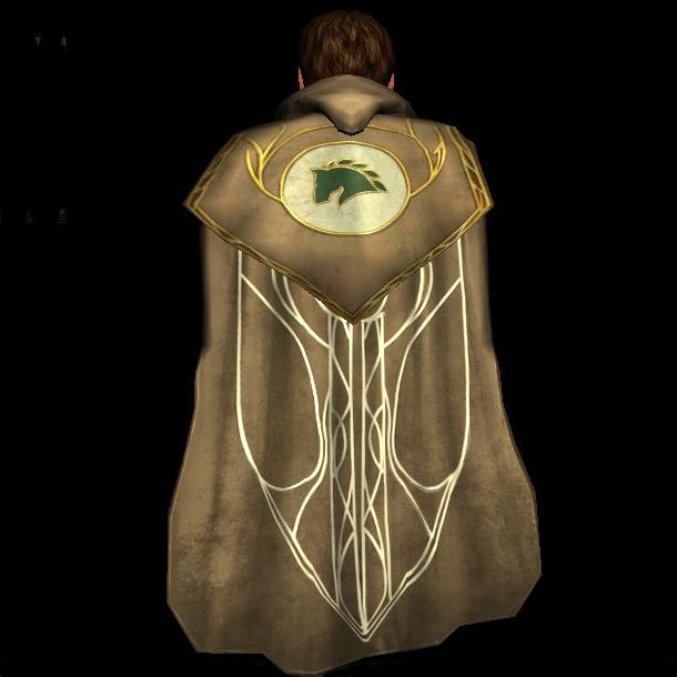Cloak of the Westfold hobbit