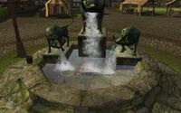Bree Boar Fountain Clear