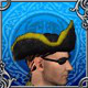 Black Corsair Eyepatch and Hat large-icon
