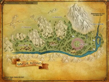 Gap of Rohan Large Map