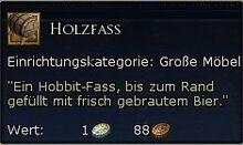 Holzfass Tooltipp