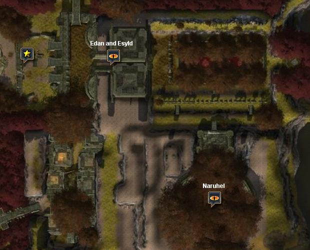 Garth Agarwen Fortress マップ