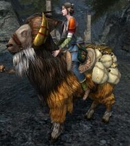 Treasure Laden Goat