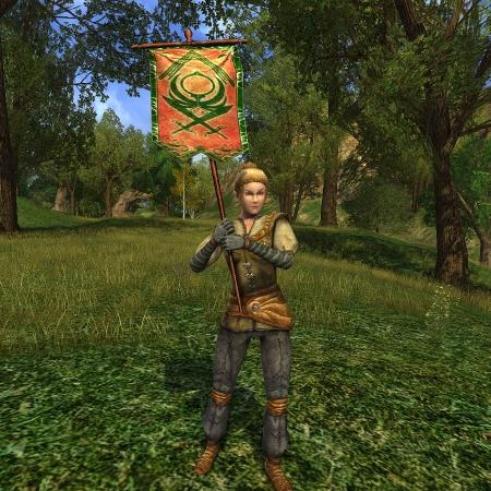 Swordswoman Herald of Hope