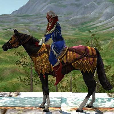 Sable Harvestmath Horse