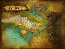 Gondor map