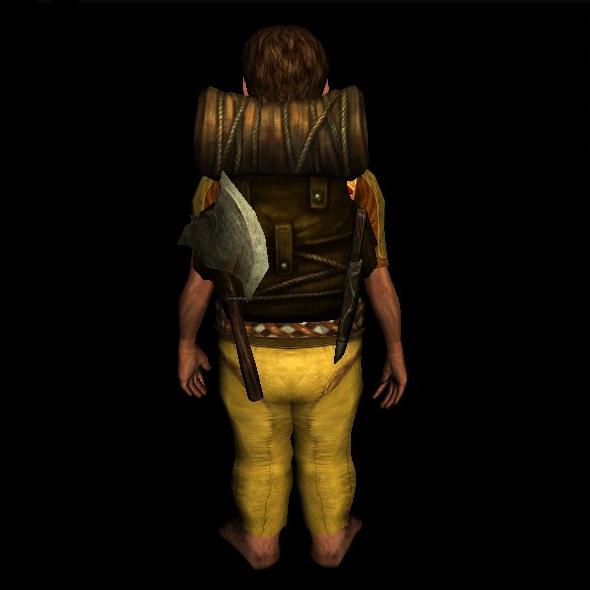 Campaign Backpack hobbit