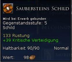 Saubersteins Schild