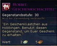 Hobbit-Geschenkschachtel