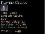 FrayedCloak
