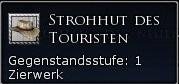 Strohhut des Touristen Tooltipp