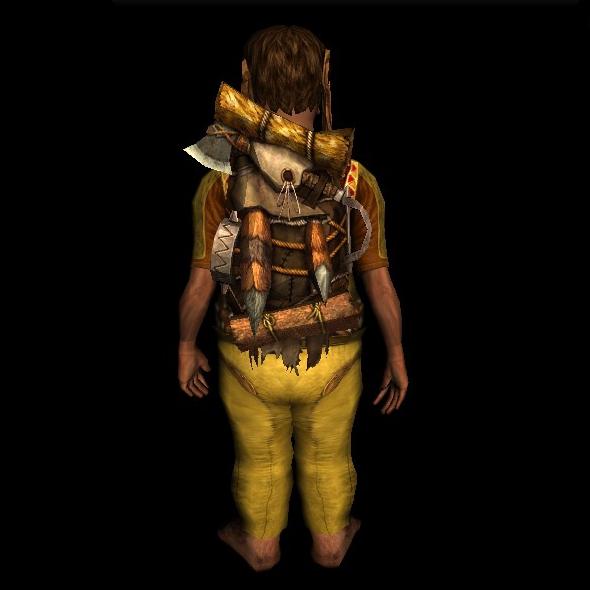 Trapper's Backpack hobbit