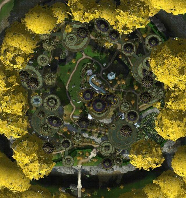 Caras Galadhon Interactive map
