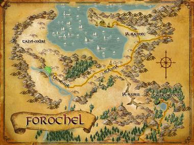 Forochel 地図