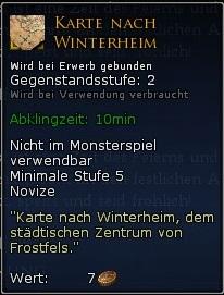 Karte nach Winterheim