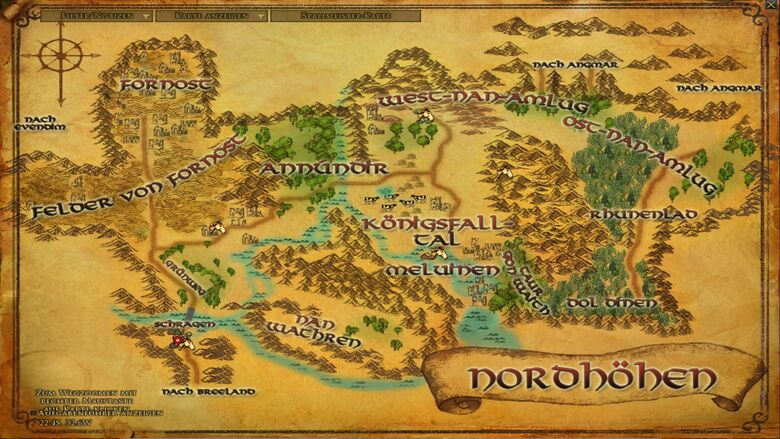 Nordhöhen Karte