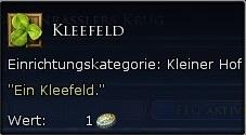 Kleefeld Tooltipp