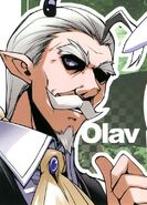 Olav colored image from manga