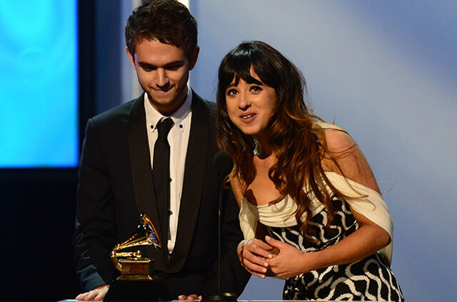 File:Zedd and Foxes at the 56th Grammy Awards (3).jpg
