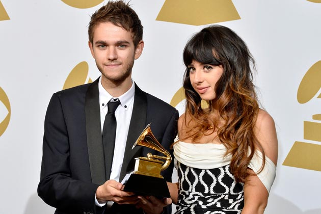 File:Zedd and Foxes at the 56th Grammy Awards.jpg
