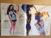 Foxes and A*M*E in YOU Magazine