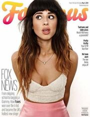 Foxes on the cover of Fabulous Magazine