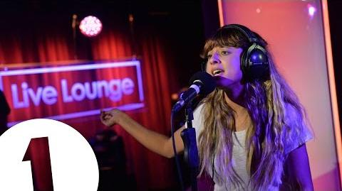 Foxes covers Ed Sheeran's Photograph in the Live Lounge