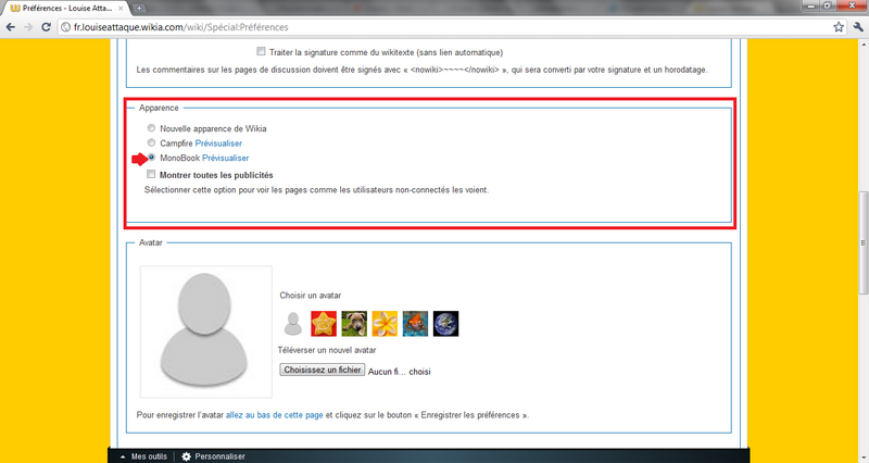 Aide changement apparence 3