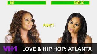 Love & Hip Hop Atlanta Khadiyah Lewis & Karlie Redd Can't Stand Each Other VH1
