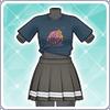Aqours Unit Live T-Shirt (Kanan) Outfit