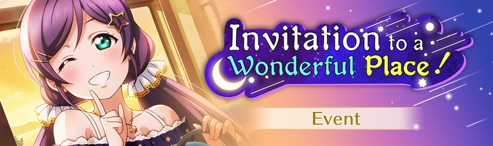Invitation to a Wonderful Place! (Event - EN)
