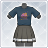 Aqours Unit Live T-Shirt (Yoshiko) Outfit