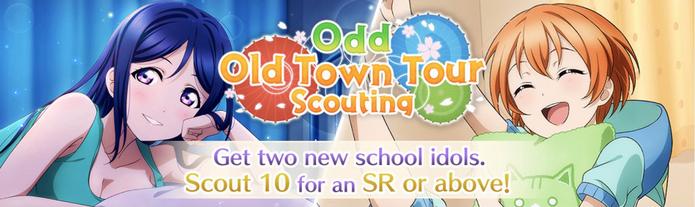 Odd Old Town Tour (Gacha - EN)