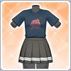 Aqours Unit Live T-Shirt (Chika) Outfit