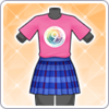 9th Anniversary T-Shirt (Honoka) Outfit