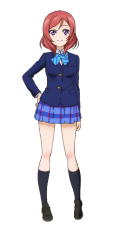 Nishikino Maki (Uniform)