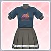 Aqours Unit Live T-Shirt (Riko) Outfit