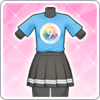 9th Anniversary T-Shirt (Ruby) Outfit