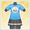9th Anniversary T-Shirt (Hanamaru) Outfit