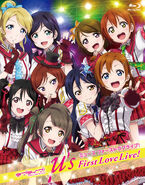 Muse First LoveLive Box Illustration